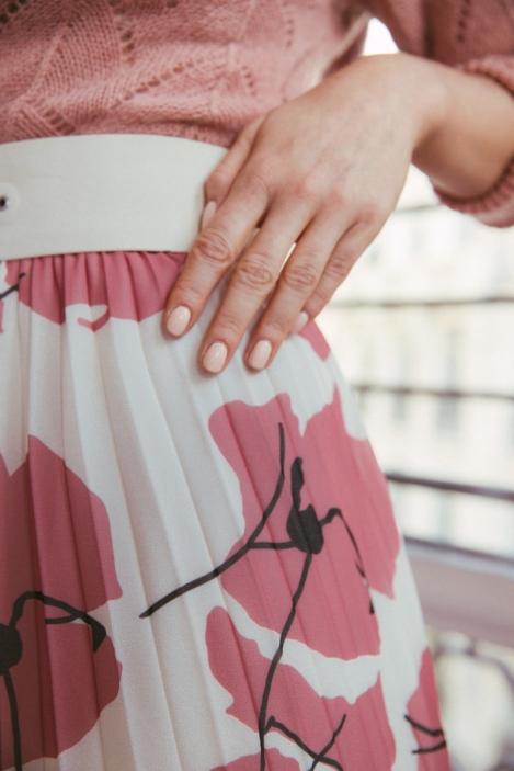 Pleated skirt - AMETRINE