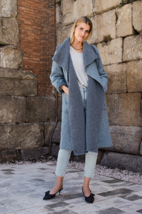 Long wool coat - MAEL