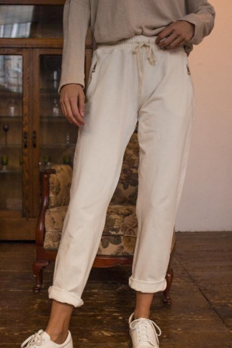 Pantalon jogging - BRUNE-Beige