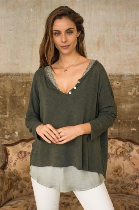 Cotton blouse - MATEO